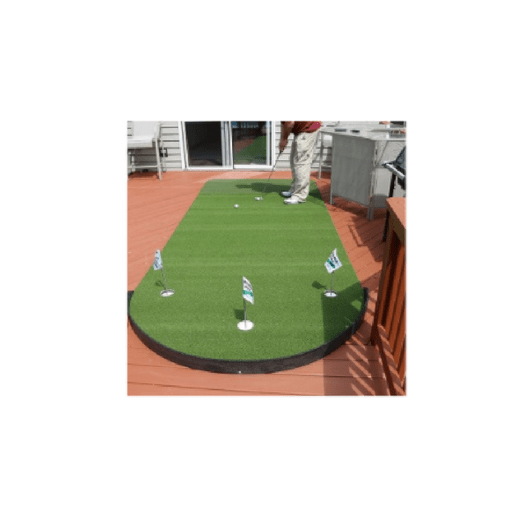 Big Moss 6' x 15' Putting Green and Chipping Mat