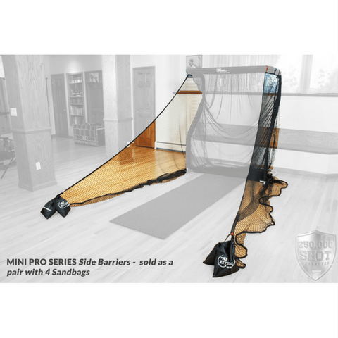 The Net Return Mini Pro Series Side Barriers