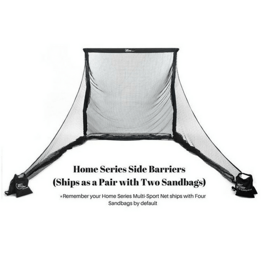 Home Series Side Barriers - (2 Sandbags Included)