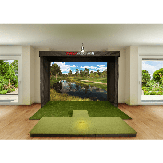 TruGolf Vista 12 Golf Simulator at home
