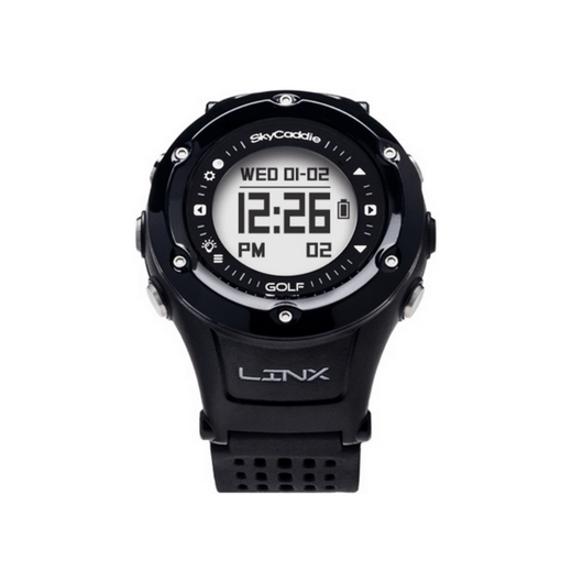 Black LINX GPS Rangefinder Watch