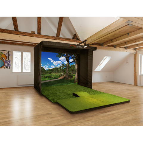 TruGolf Vista 10 Golf Simulator House Set up