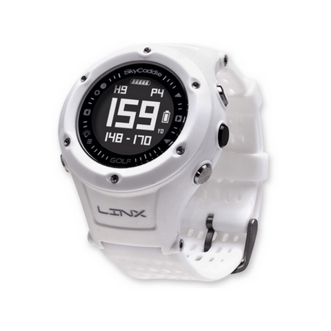 White LINX GPS Rangefinder Watch