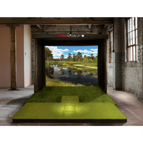 TruGolf Vista 10 Golf Simulator setup