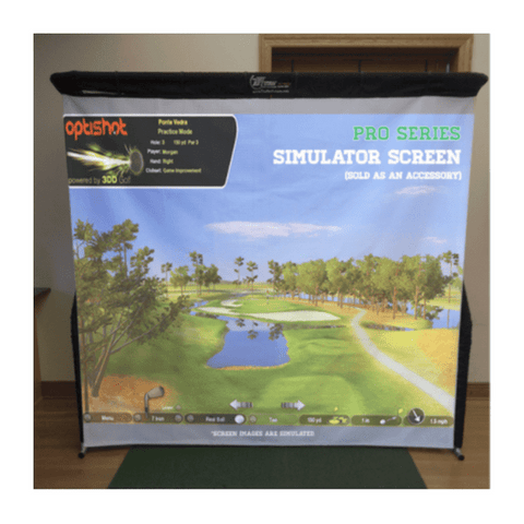The Net Return Pro Series Golf Simulator Screen