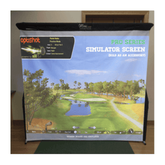 Image of The Net Return Pro Series Golf Simulator Screen