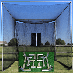 Cimarron Masters Golf Net with Frame Corners and Golf Net Target