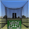 Image of Cimarron Masters Golf Net with Frame Corners and Golf Net Target