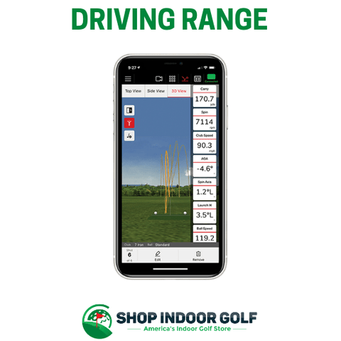 driving range app for iphone