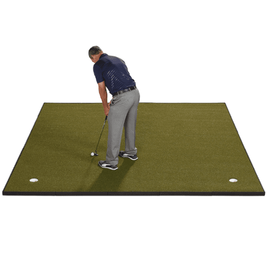 Fiberbuilt 10′ x 10′ Putting and Chipping Green