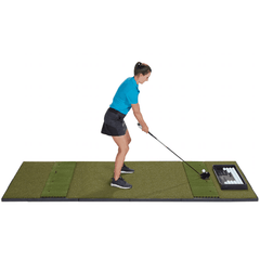 fiberbuilt 4' x 10' double sided golf mat