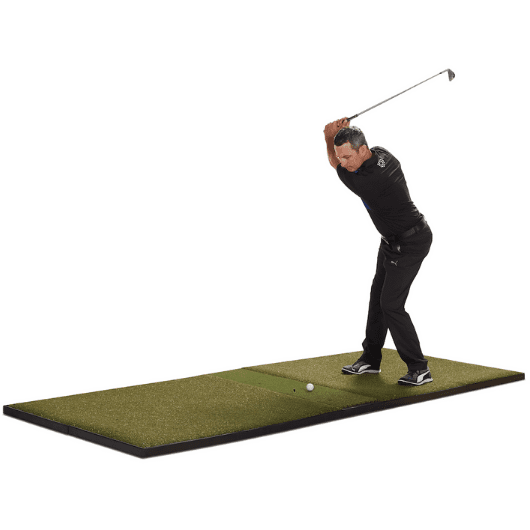 fiberbuilt 4' x 10' center hitting golf mat