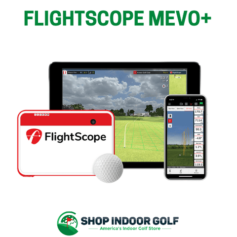 flightscope mevo plus golf launch monitor