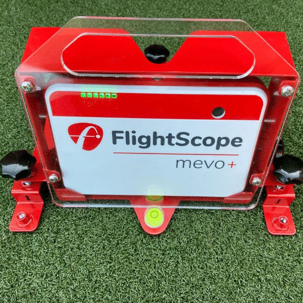 flightscope mevo plus fixed alignment dock front view