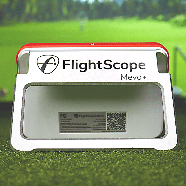 flightscope mevo plus rear view