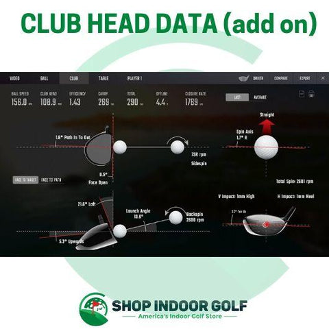 gcquad club head data