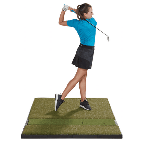swing-follow-through-on-fiberbuilt-golf-mat