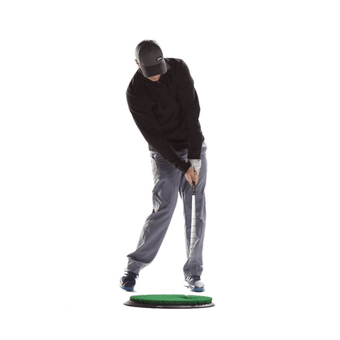 flight deck golf hitting mat