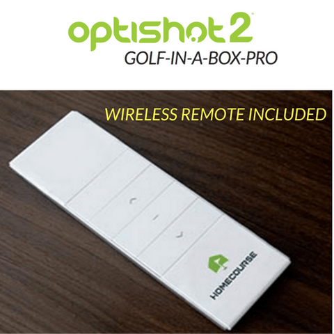 wireless remote for the homecourse pro retractable screen