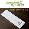 Image of wireless remote for the homecourse pro retractable screen