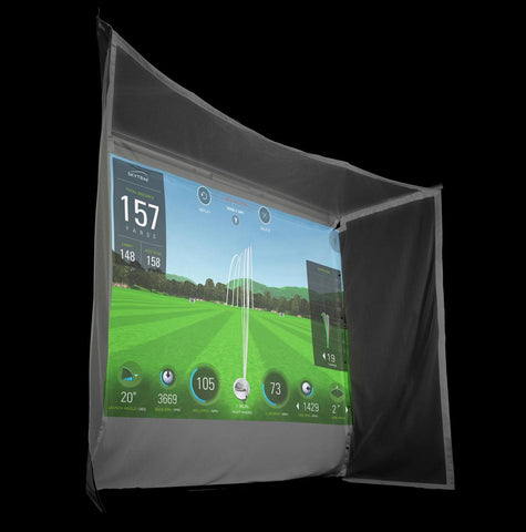 SkyTrak Golf Simulator Flex Space Package