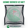 Image of net return home series v2 golf net