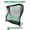 Image of net return pro series v2 golf net and frame