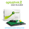 Image of optishot 2 home golf simulator