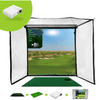 Image of optishot golf in a box pro golf simulator package