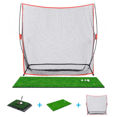 optishot golf in a box with new net