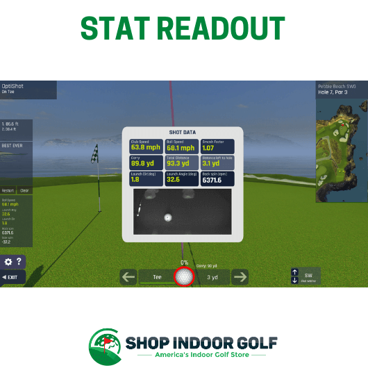 OptiShot BallFlight Bronze Golf Simulator
