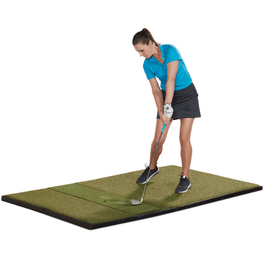 impact-on-fiberbuilt-golf-mat