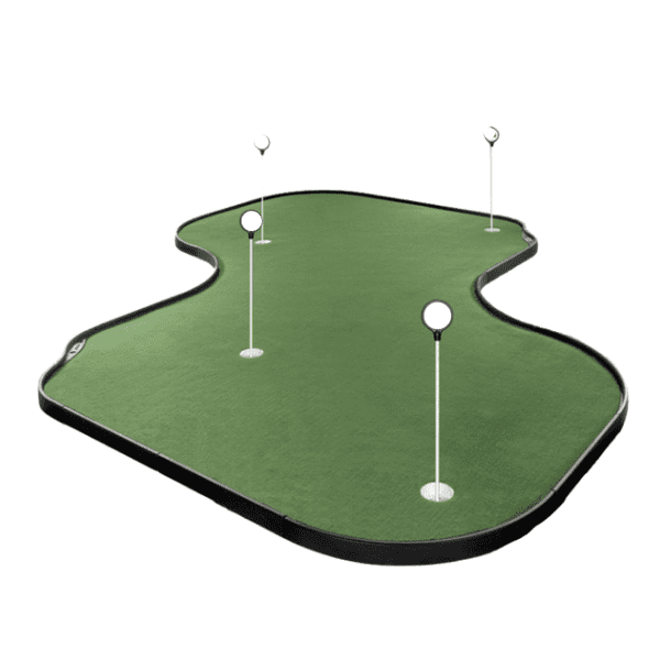 tour links indoor and outdoor putting green 12' x 12'
