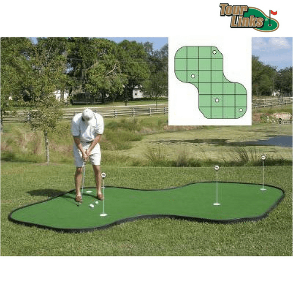 tour links putting green 12' x 12'