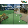 Image of tour links putting green for indoors or outdoors