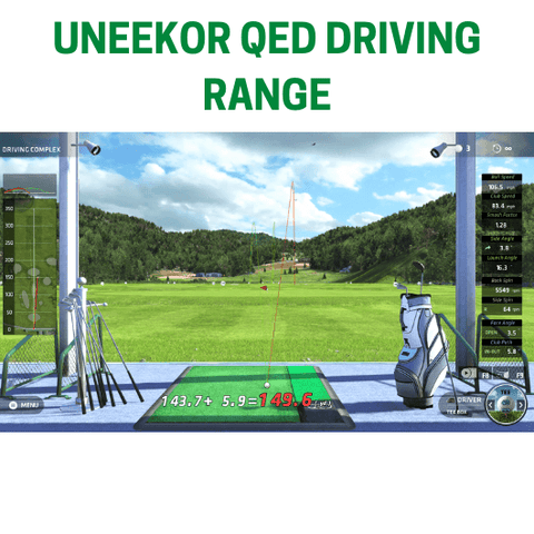 driving range feature on uneekor qed