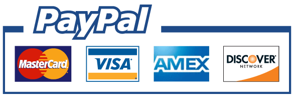 Paypal and cards badge