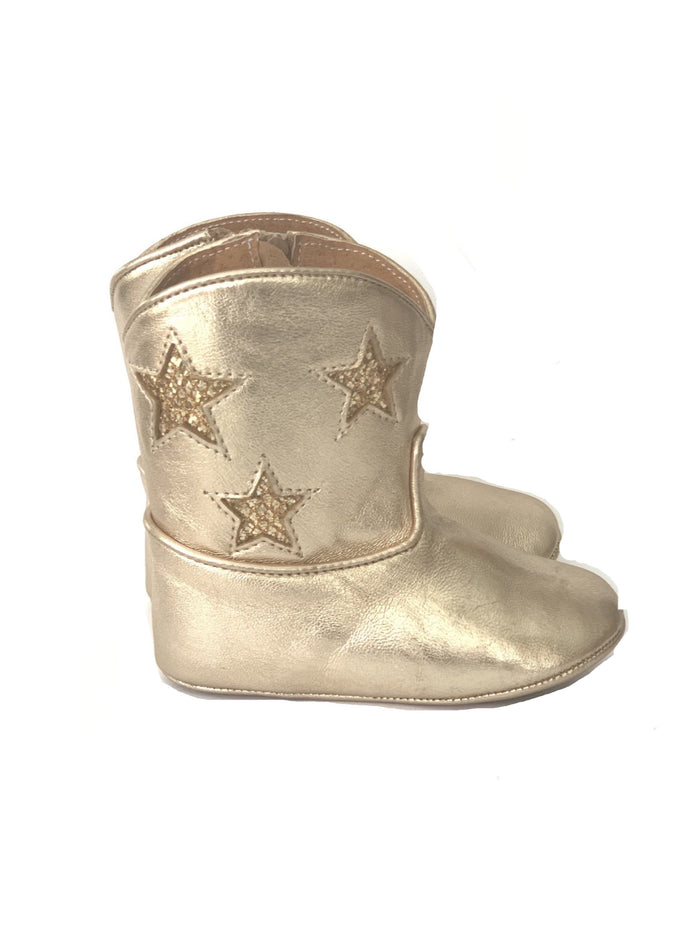 Gold Spark Boots