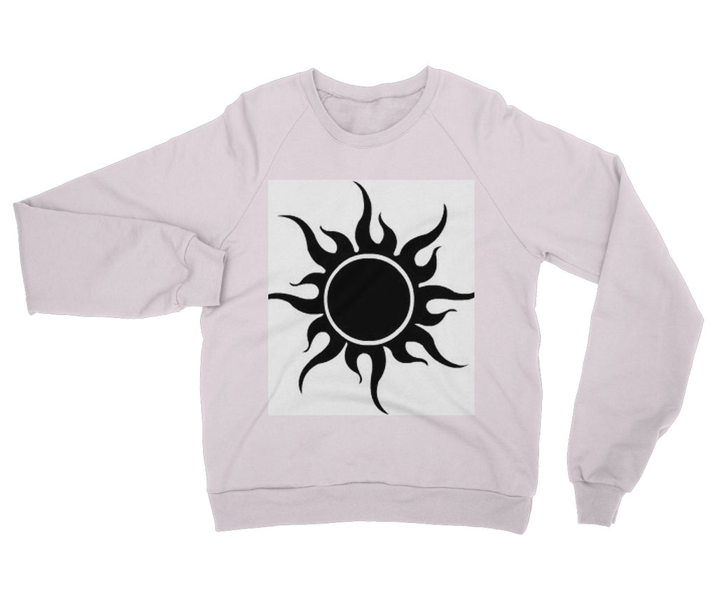 Crazy Desert Black Sun Heavy Blend Crew Neck Sweatshirt