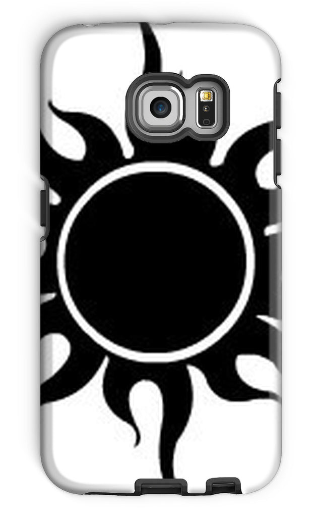 Crazy Desert Black Sun Phone Case