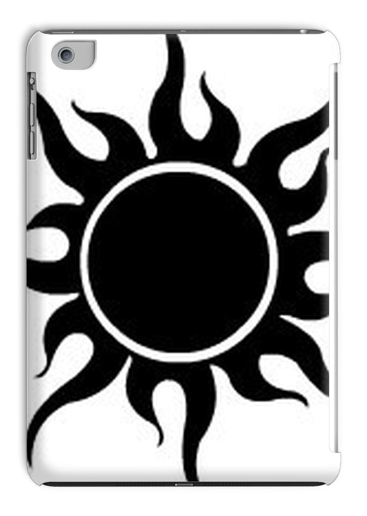 Crazy Desert Black Sun Tablet Case