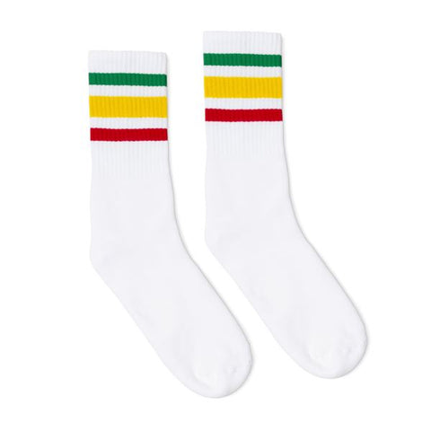 Rasta Socks White