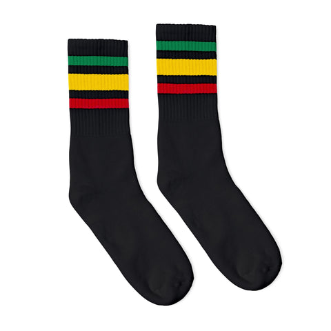 Rasta Socks Black