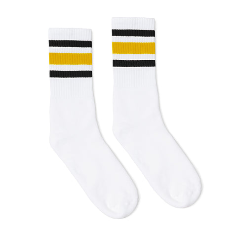 Black and Gold Striped Socks