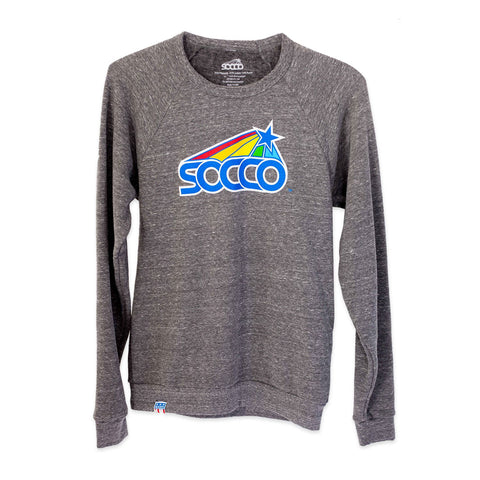 Star Crewneck Grey