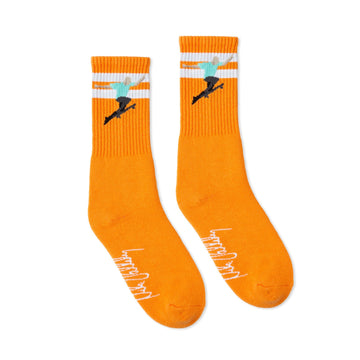 SOCCO x Mike Vallely No Comply Signature Socks | Orange