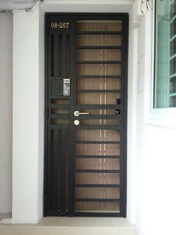 Veneer Single Leaf Main Door