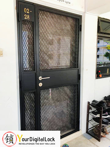Laminated Double Leaf Fire Rated Main Door