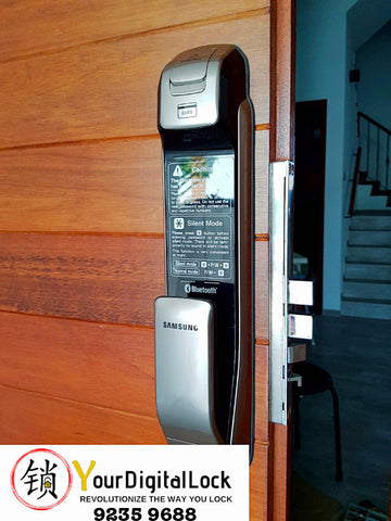 Samsung SHS-H525 Digital Door Lock