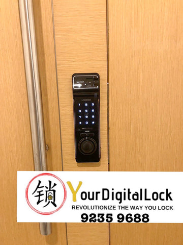 Irisys Face Recognition Digital Lock PUSH/PULL 7070